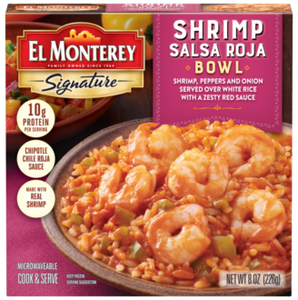 Shrimp Salsa Frozen Meal